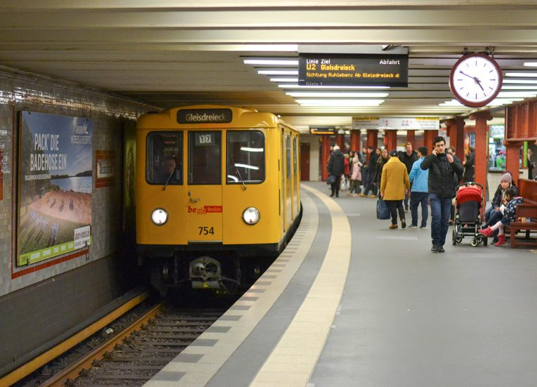 Berlin Subway Stations, Interrail in Winter: Train Travel in Europe Itinerary