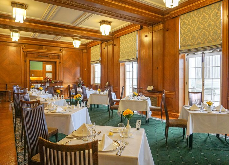 Members Dining Room Restaurant at Parliament Buildings Belfast NI