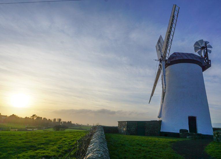 Ballycopeland Windmill in Millisle near Donaghadee