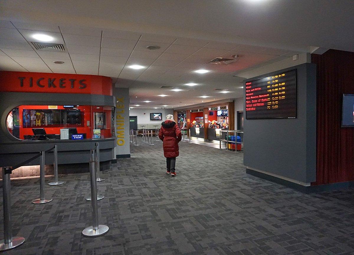 Cheap Days at Omniplex Cinema in Bangor Northern Ireland NI