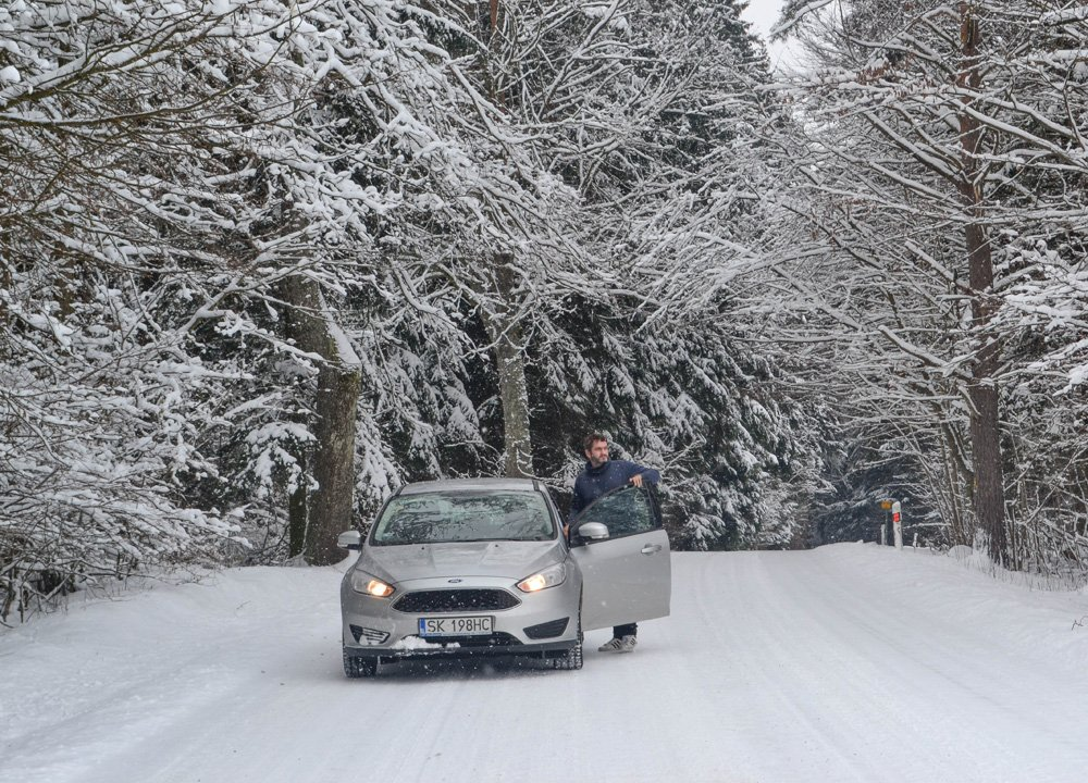 Driving-in-Snow-Winter-Road-Trip-Self Drive Holidays in Europe