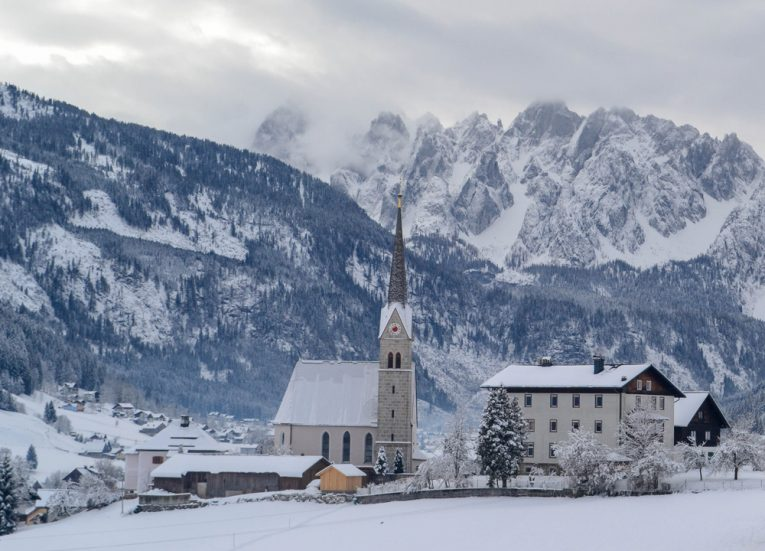 Austria-in-Snow-Europe Road Trip in Winter Travel Itinerary