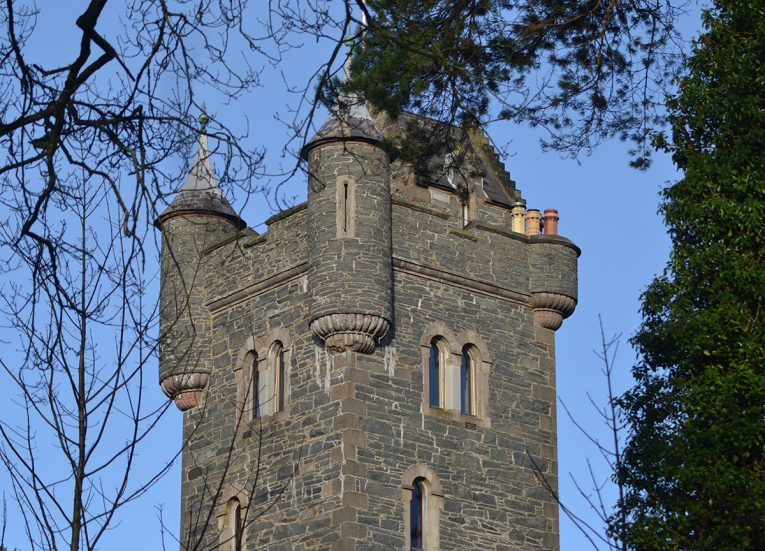 Helens Tower in Dufferin Estate in Bangor Northern Ireland
