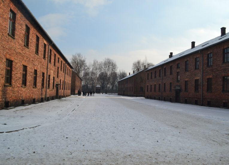 Housing-at-Aushwitz-in-Poland-Winter-Road-Trip-in-Europe-Piland