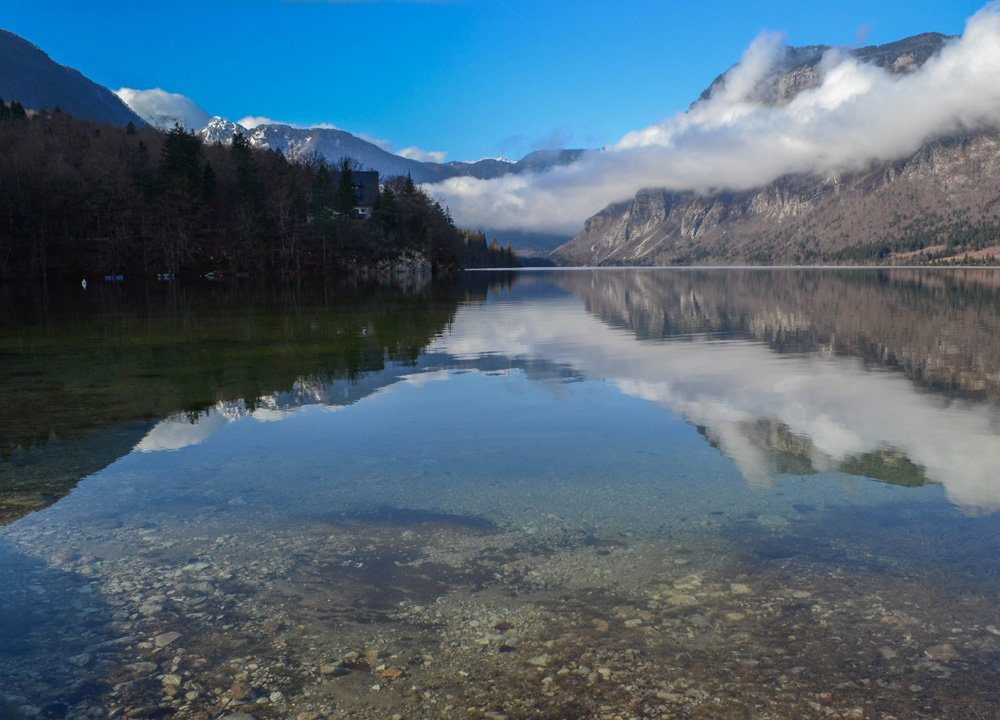 Lakes of Slovenia Europe Road Trip in Winter Travel Itinerary