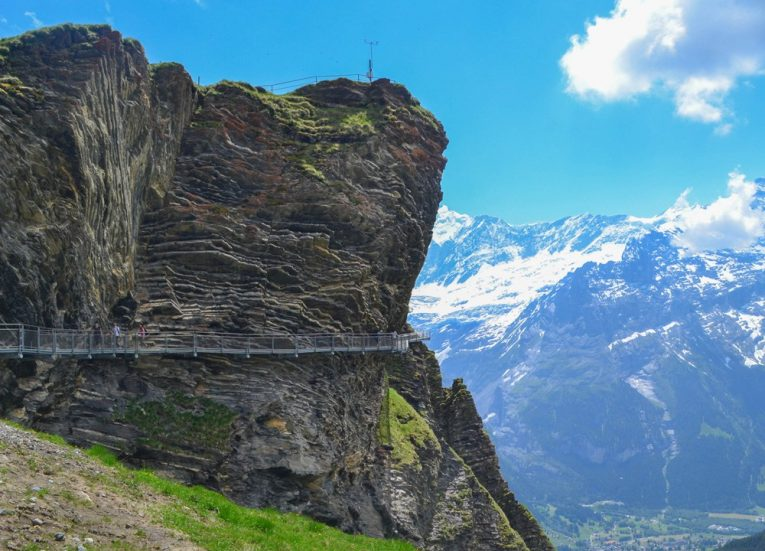 First Cliff Walk Observation Platforms on 3-Day Jungfrau Travel Pass