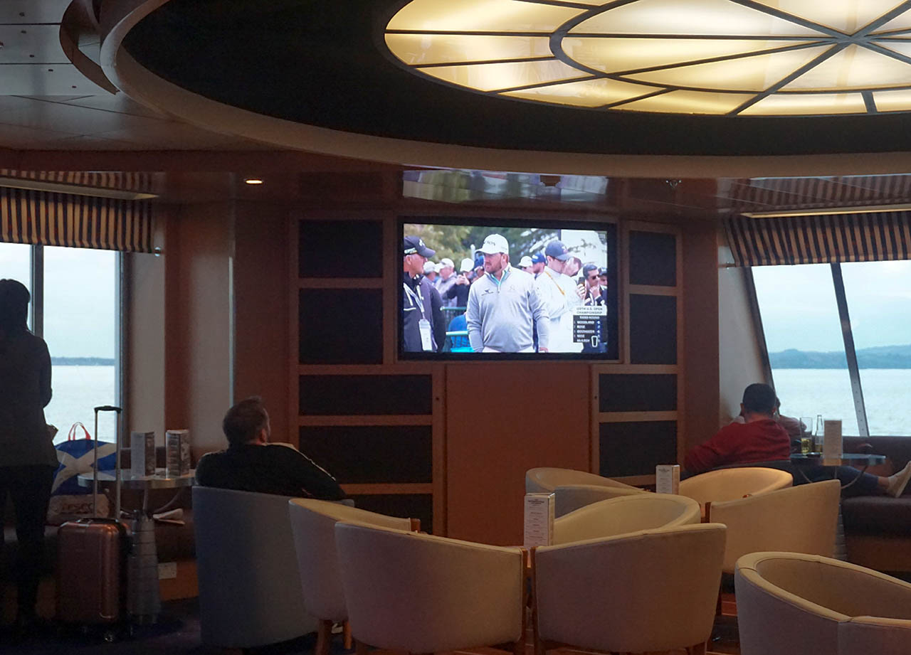 Bar Lounge, Belfast to Cairnryan for Stena Line Day Tour to Scotland