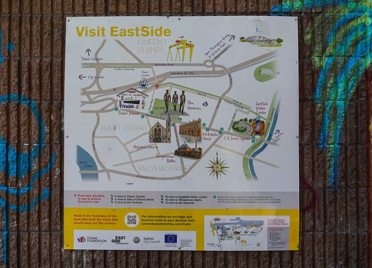 Visit Eastside in East Belfast Northern Ireland