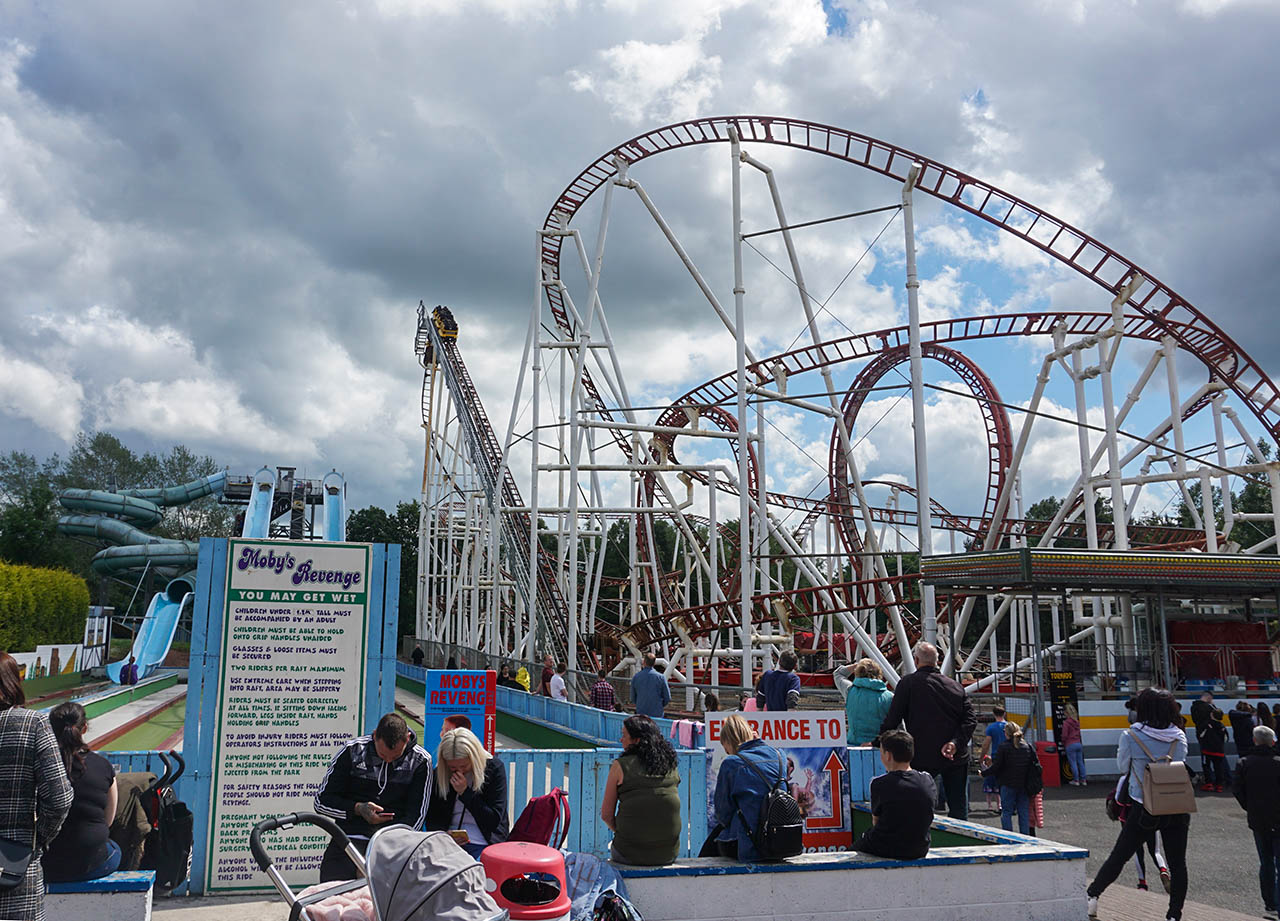 Roller Coasters M&D Theme Park Stena Line Day Tour to Scotland