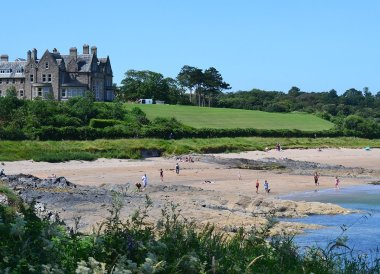 Crawfordsburn Beach Country Park Summer in Bangor Northern Ireland