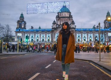 Fanfan Wilson Belfast Travel Blogger things to do in Belfast Northern Ireland