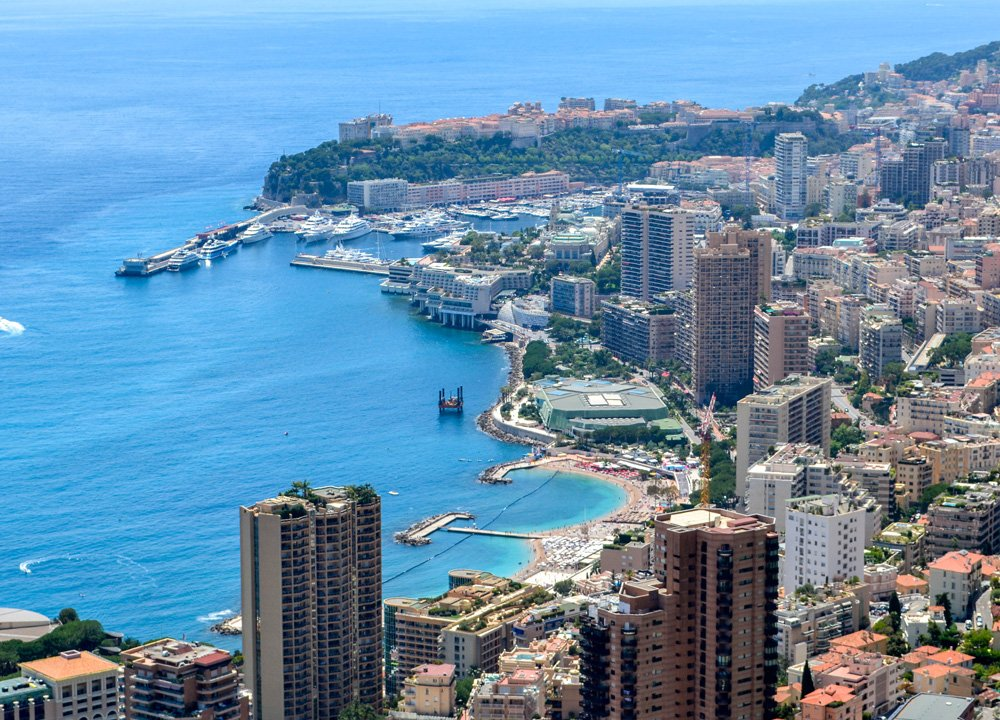 Viewpoint over Monaco, Road Trip in Southern France Riviera