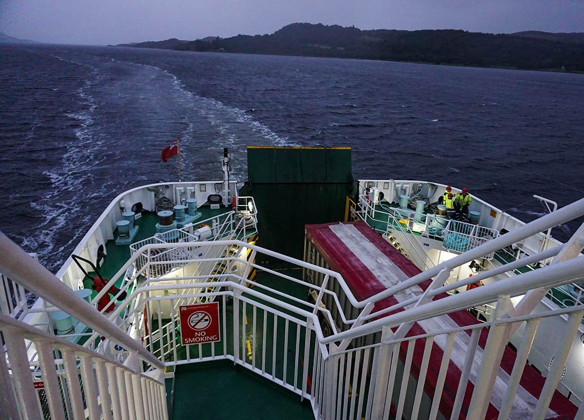 Calmac Ferry Boat to Kennacraig from Islay Port Ellen