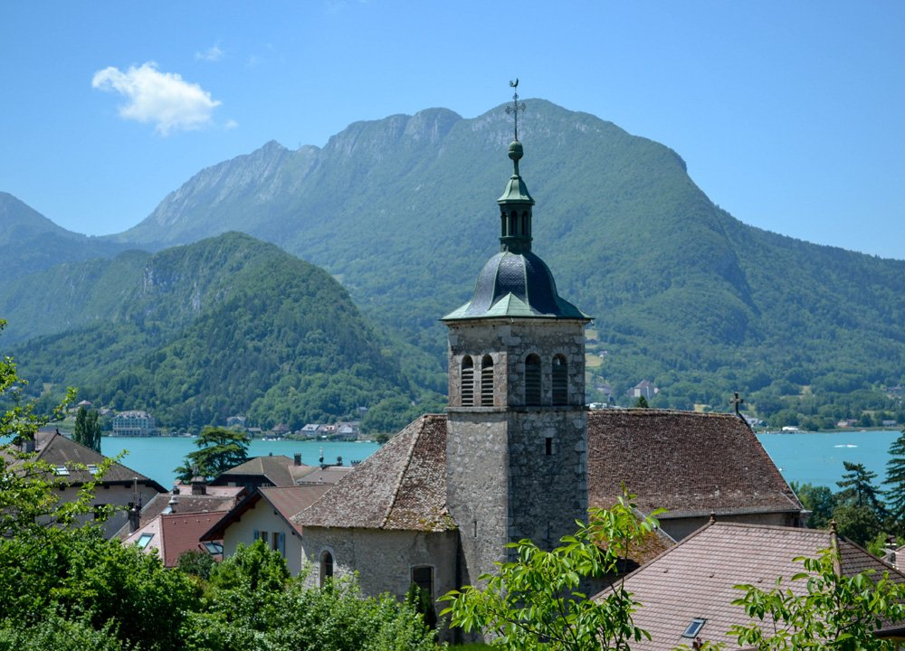 Lake Annecy, Road Trip in Southern France and Borders June