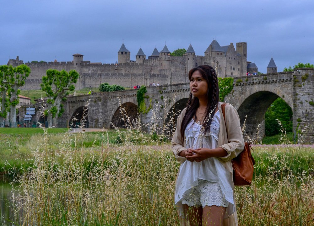 Pont Vieux Carcassonne Road Trip in Southern France and Borders June