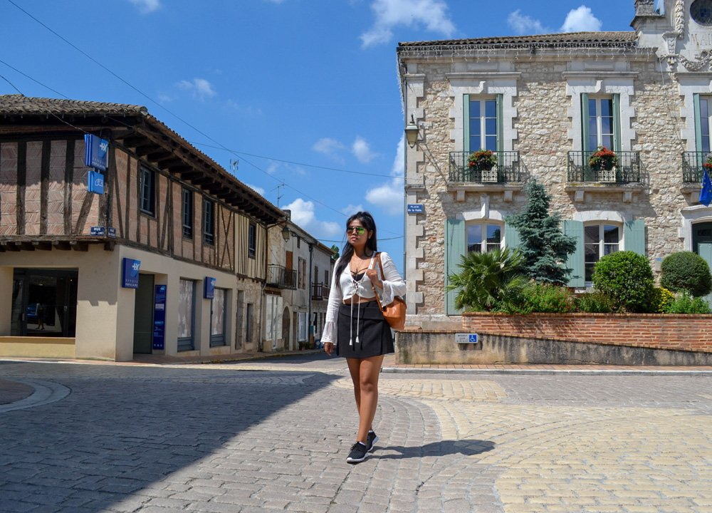 Villereal, Dardogne, Road Trip in Southern France and Borders