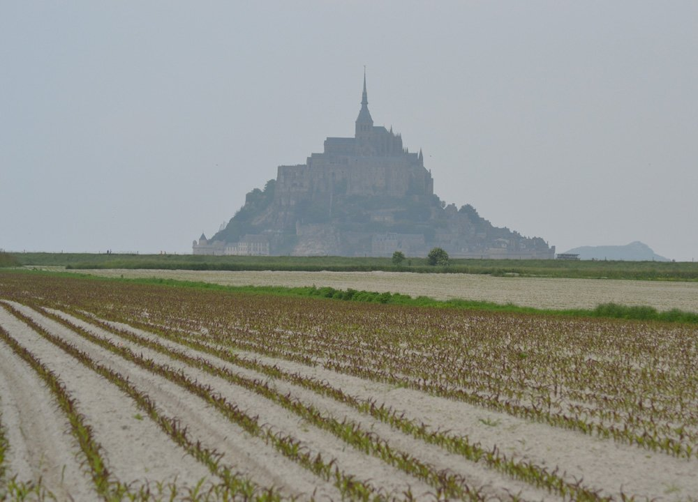 Mont Saint Michael, Road Trip in Southern France and Borders June