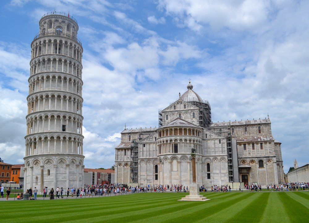 Pisa Tower, Road Trip in Southern France and Borders June