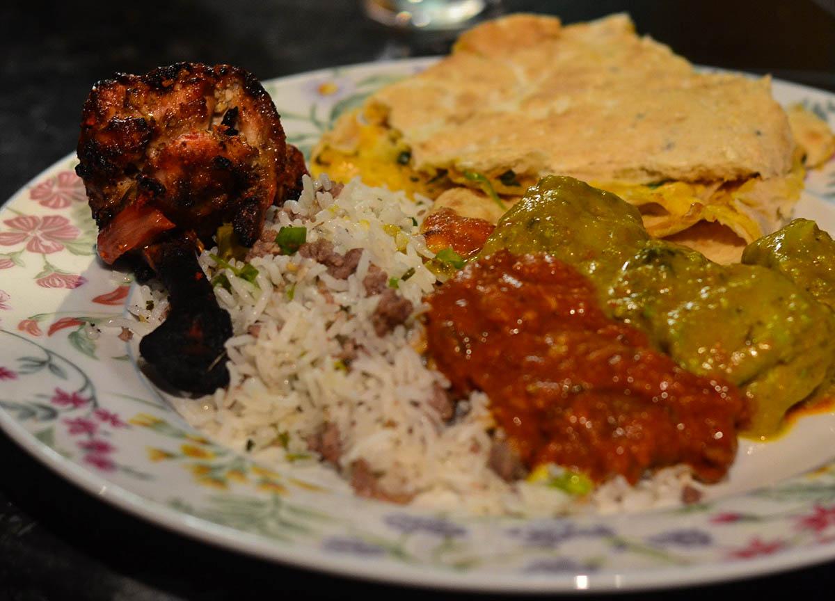Chicken Sekuwa Cooked in Tandoor from Yaks Nepalese Food Bangor Abbey Street