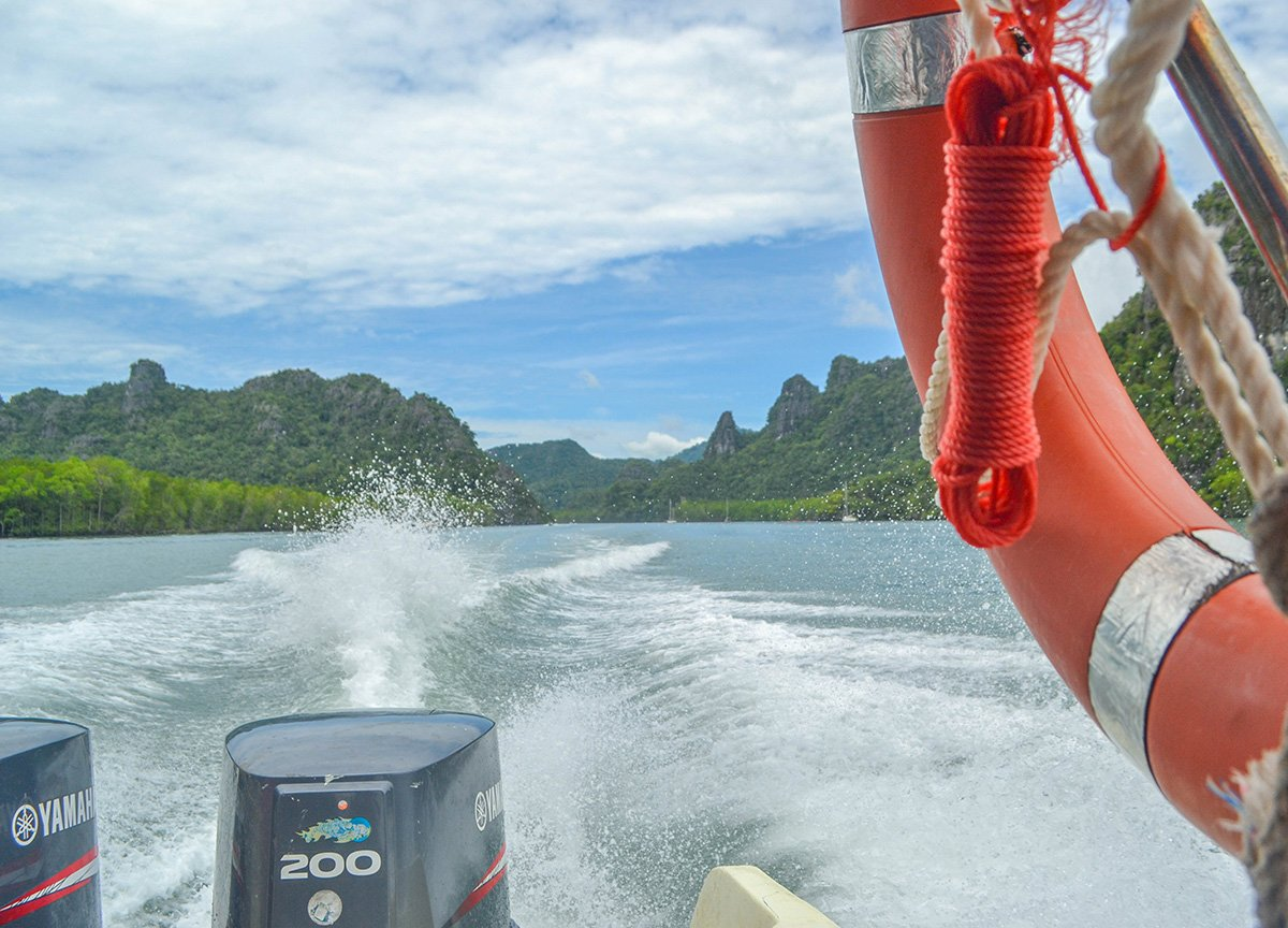 Sponsored Travel. Langkawi-Geoforest Park Tour Kilim Karst with Resorts-World Malaysia