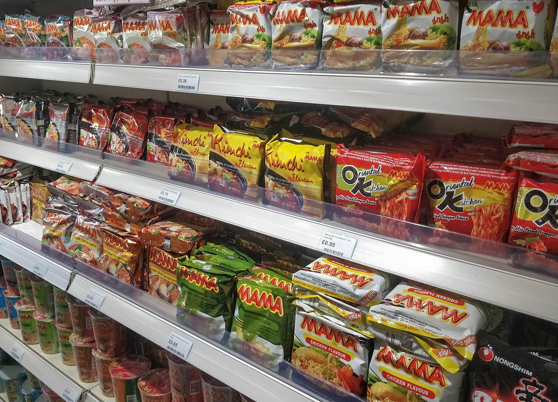 Buy Instant Ramen Noodles at World Foods Asia Supermarket in Bangor NI