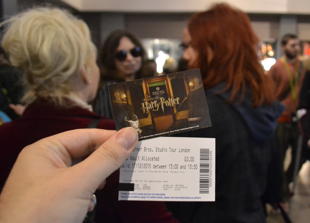 Tickets and Entry to Harry Potter Studios London