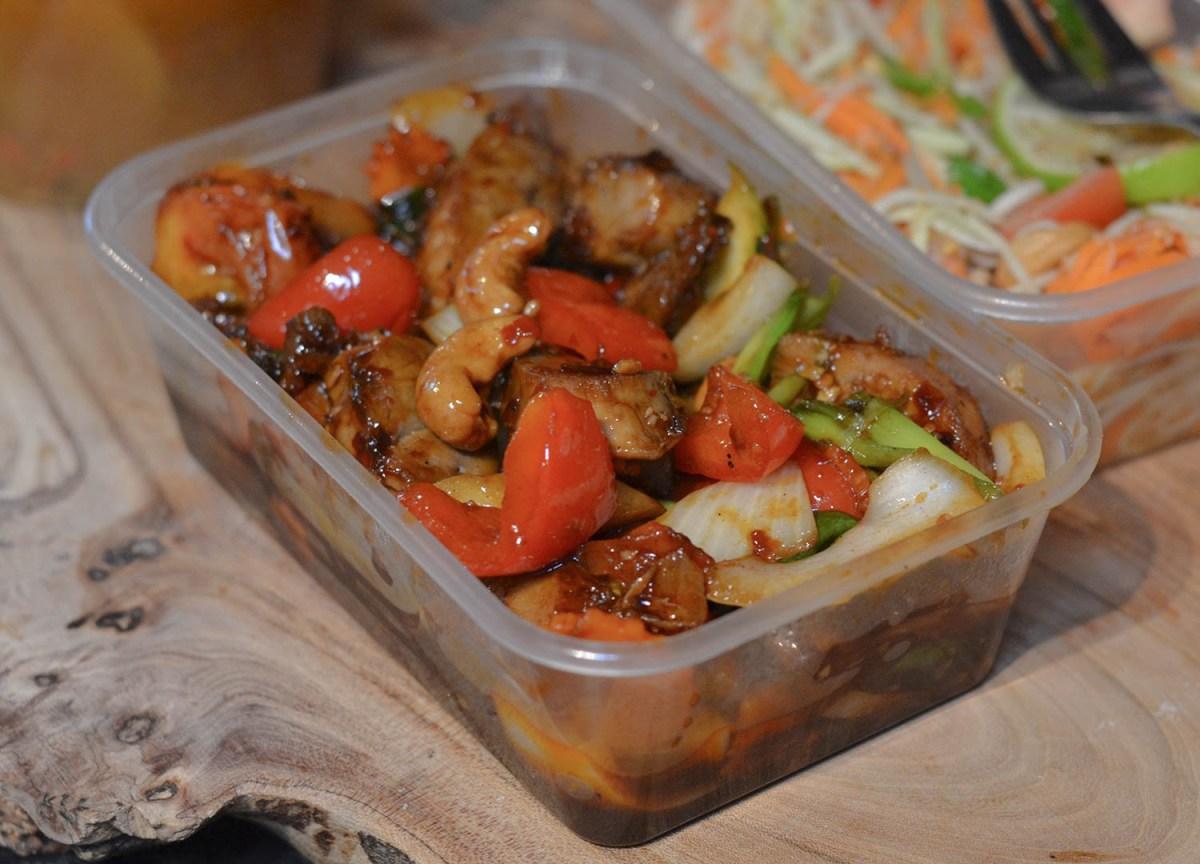 Thai Tao Bahn in Cashew Nuts in Tuk Tuk Bangor Thai Food Delivery
