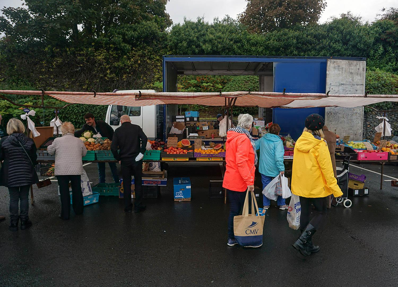 Asda Car Park for Bangor Market Wednesday Weekly