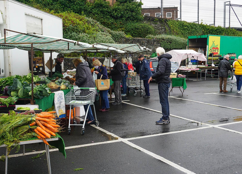 Bangor Market in Town Centre of Bangor Northern Ireland