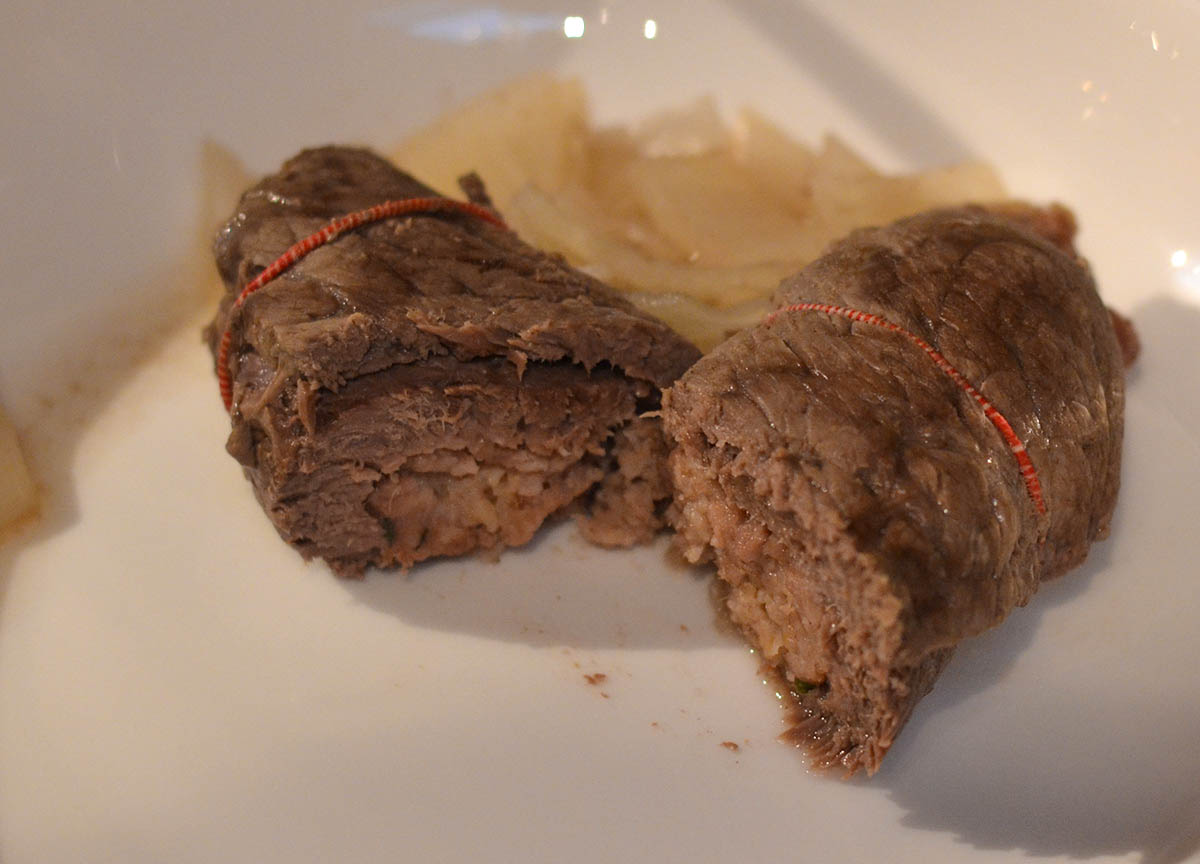 Oven Cooked Beef Olives Traditional Scottish Foods