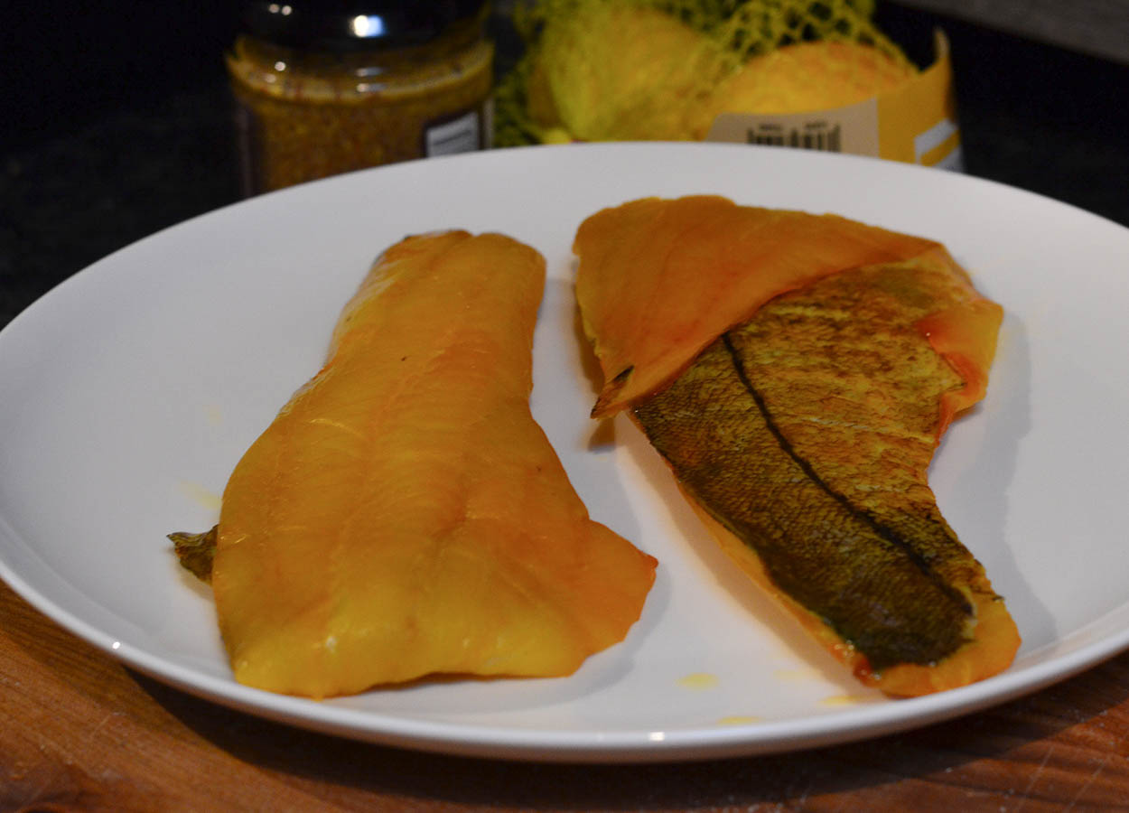 Scottish Smoked Haddock Fillets from Tesco