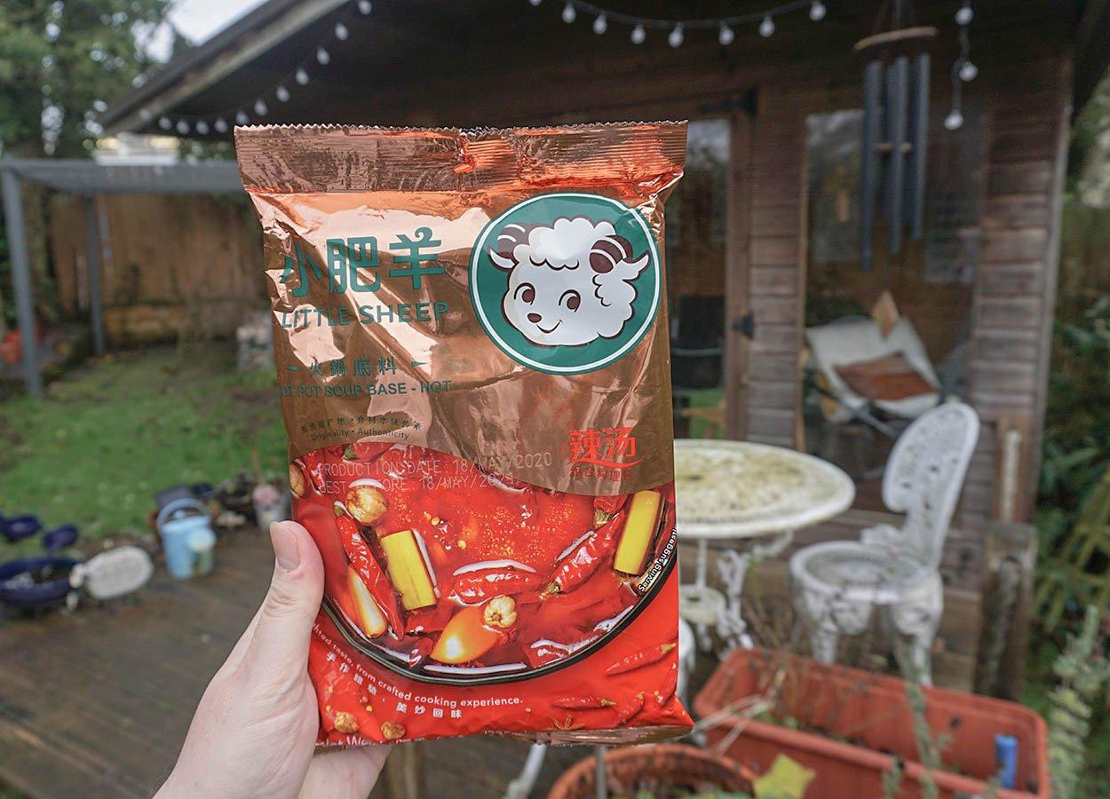Little Sheep Sichuan Hot Pot Base Soup Szechuan Peppercorns in the UK Supermarkets