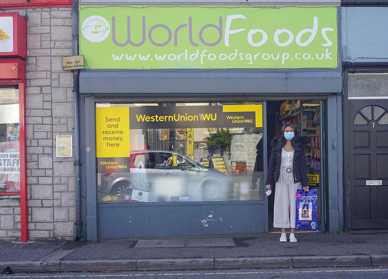 World Foods Shop on Church Street Bangor Northern Ireland