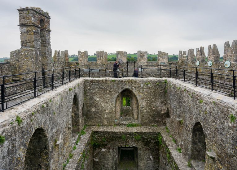 Blarney Stone Rooftop Ireland's Ancient East Road Trip Itinerary