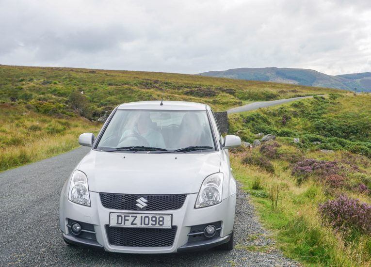Driving in Wicklow Mountains in Summer Road Trip Itinerary in Ireland Ancient East