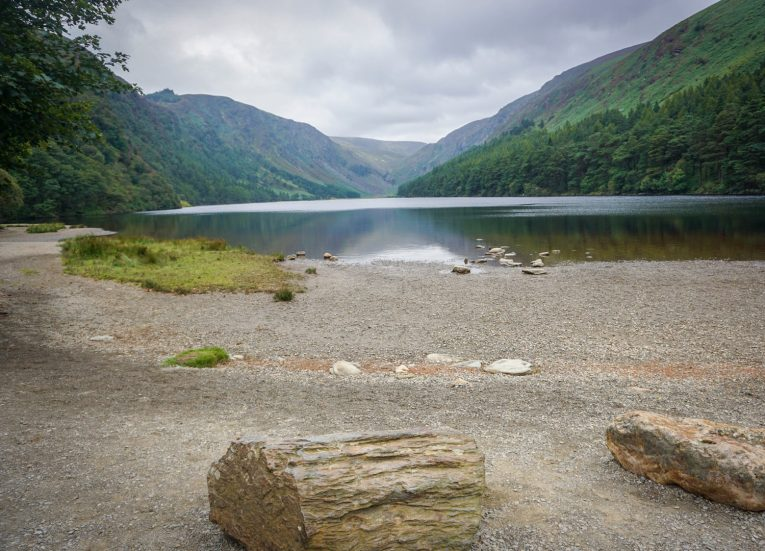 Upper Lake Glendalough Wicklow Mountains Ireland's Ancient East Road Trip Itinerary