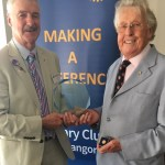 Celebrating Edwin Dunlop's Golden Rotary Anniversary