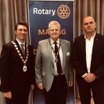 Jim Gamble QPM speaks at Bangor Rotary Charity Breakfast 2018