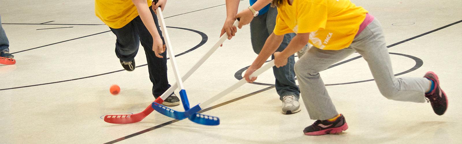Floor Hockey  The Bangor Y