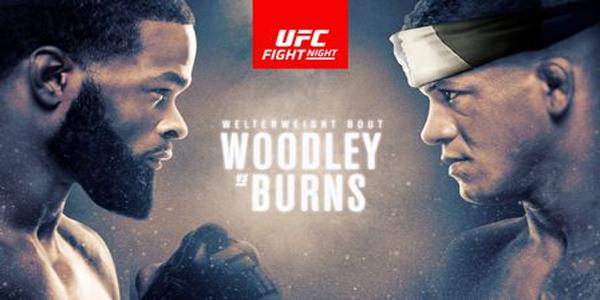 UFC on ESPN: Woodley vs. Burns