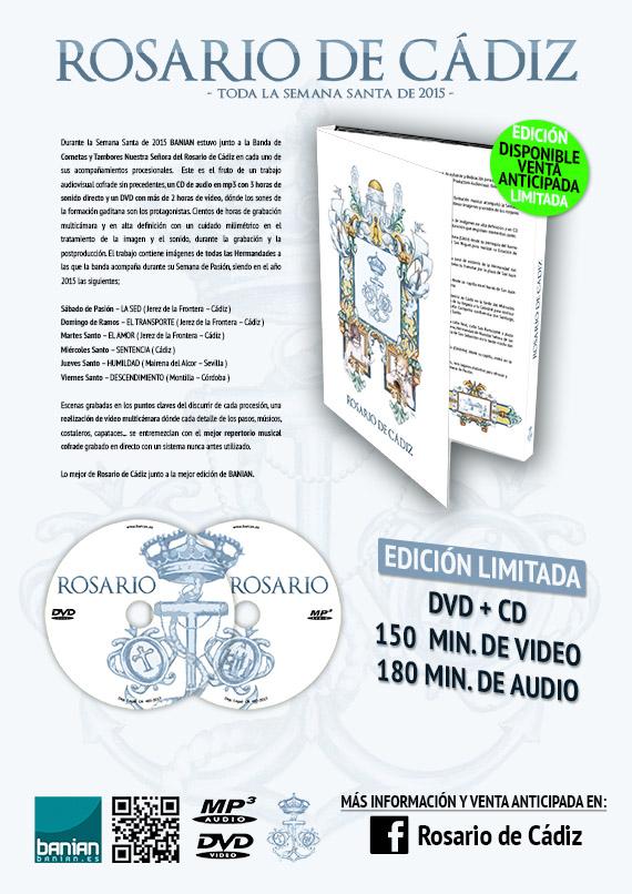 Rosario de Cádiz Semana Santa 2015 DVD + CD Edición Limitada