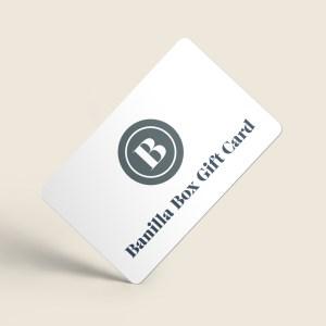 Banilla Box Gift Card