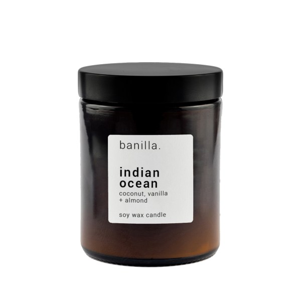 Indian Ocean Amber candle