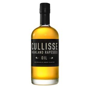Bottle of Cullisse Rapeseed Oil
