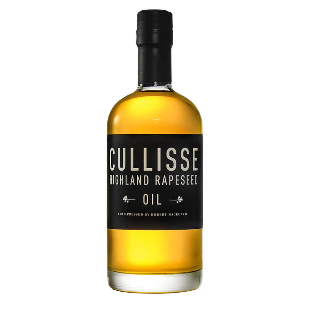 Bottle of Cullisse Rapeseed Oil