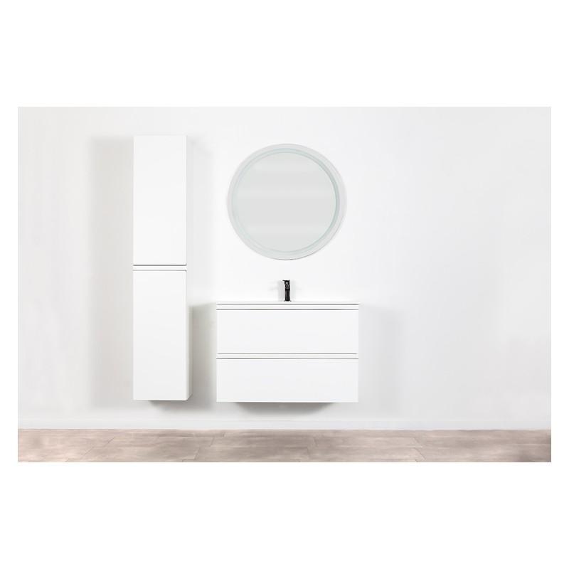 Banio Design Desiro Meuble Salle De Bain 90 Cm Blanc Banio