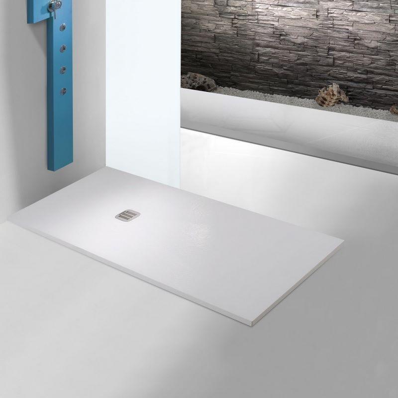 receveur de douche minerale extra plat sur mesure keops