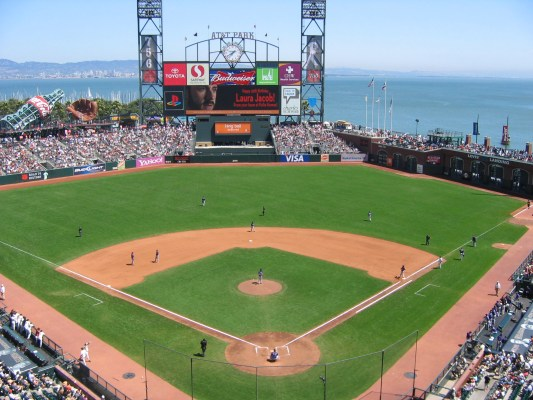 AT&T Park - Home of this week's Sunday Night Baseball