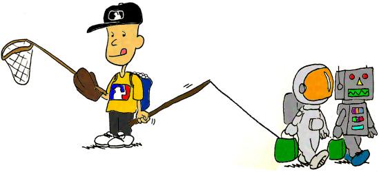 baseball halloween costume - Zack Hample