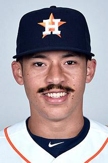 Baseball Mustache - Carlos Correa